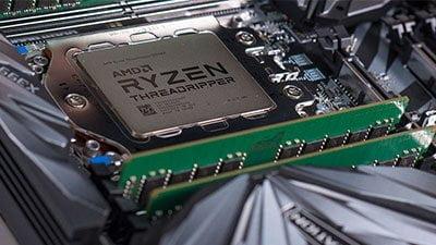 AMD Ryzen Threadripper In Motherboard