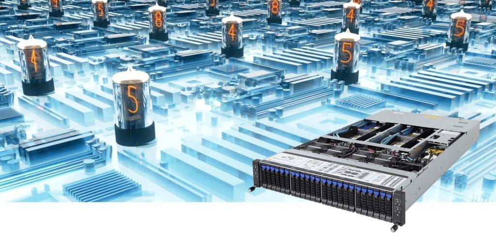 CPU Rackmount Servers Header