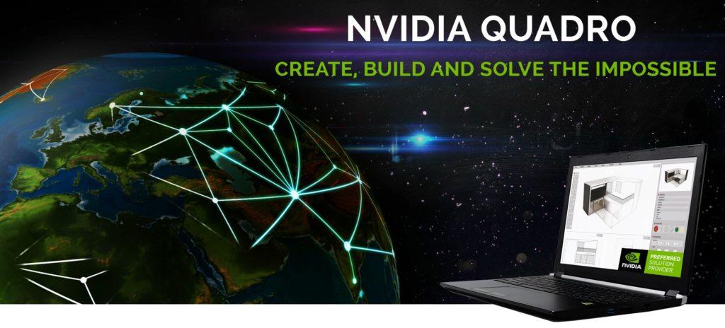 Mobile Workstations NVIDIA Quadro Header