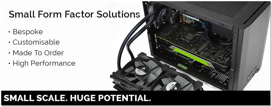 Custom Small Form Factor Workstation Header
